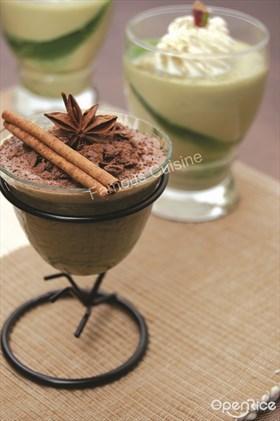Chocolate Cinnamon Mousse Recipe 巧克力肉桂慕斯食谱