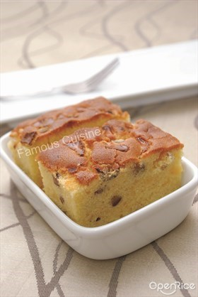 Chestnut Cheese Butter Cake Recipe 栗子起司牛油蛋糕食谱