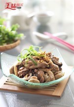 Braised Mushroom Chicken with Red Wine Recipe  红酒三菇鸡食谱
