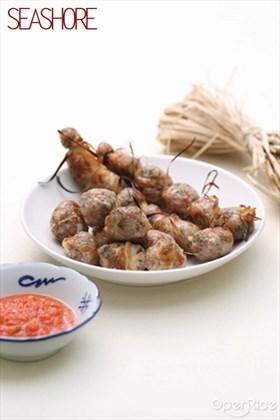 Fried Pork Jujubes with Glutinous Rice Recipe  糯米烧肉枣食谱