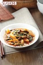 Sweet Potato Curry with Wild Betel Leaves Recipe 山佬叶番薯咖喱食谱