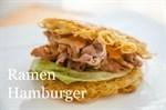 New York Ramen Burger Recipe 纽约拉面汉堡食谱