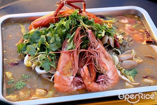 三鲜, 发记, 特色烤鱼, ah fa grill fish, jalan seladang, pudu