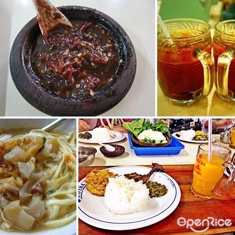 bandung indonesia, food, restaurant, warung nasi ampera