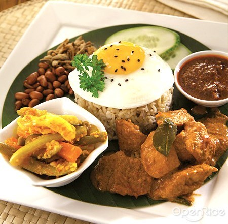 椰浆饭, nasi lemak, simple life, shopping mall, vegetarian restaurant