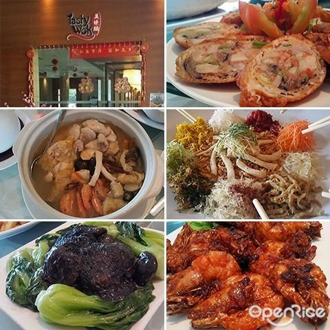 Tasty Wok Cafe, Yee Sang, Poon Choy, Reunion Dinner, Chinese New Year, Kota Kinabalu, Sabah