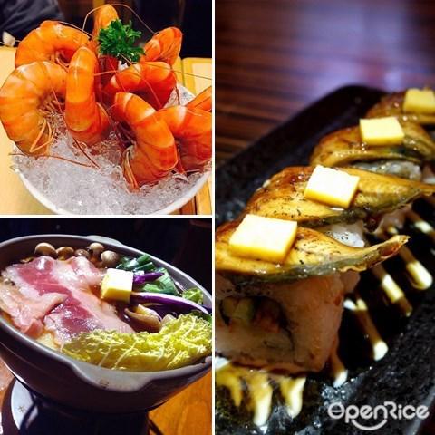 japanese buffet, japanese cuisine, sushi, steamboat, klang valley, kuala lumpur, petaling jaya, puchong, damansara, bukit bintang, 蒲种, 白纱罗, 日式自助餐, 日式料理