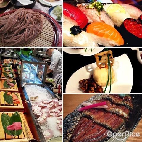 zipangu, buffet, japanese, sashimi, sushi, shangri-la hotel, tempura, matcha, mochi, 麻糬, 天妇罗, 日式料理, 日式自助餐, 铁板烧, 香格里拉酒店, 吉隆坡, 刺身, 寿司
