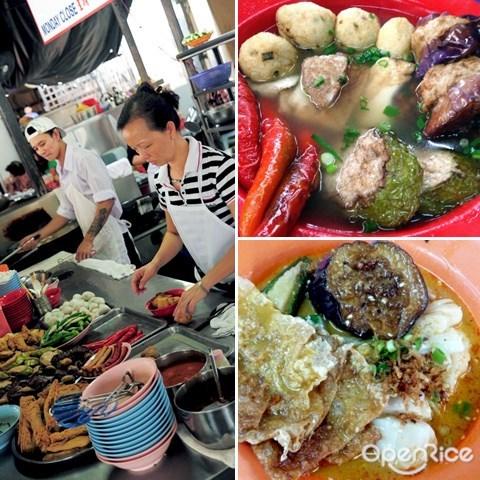 yong tau fu, chinatown, kl, petaling street