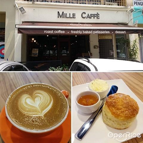 Mille Caffe, Cafe at Menjalara, Coffee, Cakes, Kepong, KL
