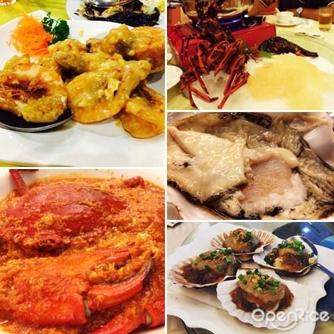 unique seafood, 奇怪号线酒家, ipoh, 怡保, 蜘蛛蟹, 龙虾
