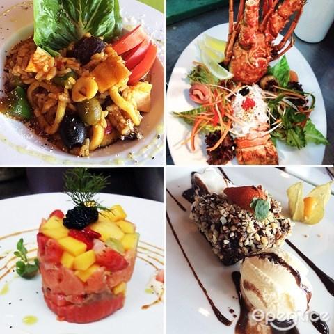 ipoh, seafood, 怡保, 海鲜, limestone, fine dining, seafood paella, 西班牙海鲜炖饭