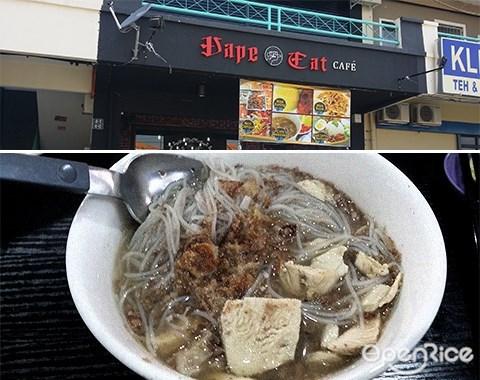 Vape Eat Café, Soto, Noodles, Beef Noodles, Sabah