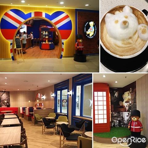 classic teddy bear, café, 泰迪熊主題咖啡館,penang,檳城,1st avenue mall