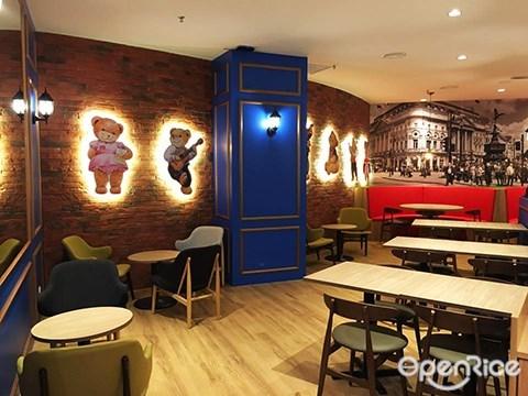 classic teddy bear, café, 泰迪熊主题咖啡馆,penang,槟城,first avenue mall