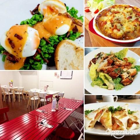 klang valley, kl, pj, brunch, eggs peas, baked eggs