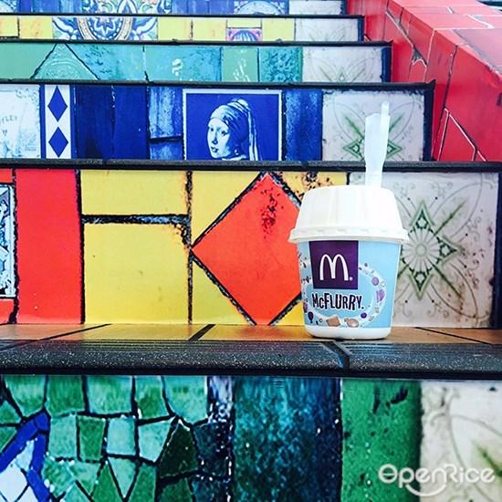 McDonald,MCd,麦当劳, Mango Pie, Mango Sundae , Mango Mcflurry, Rainbow Cake, McCafe,彩虹蛋糕,全马