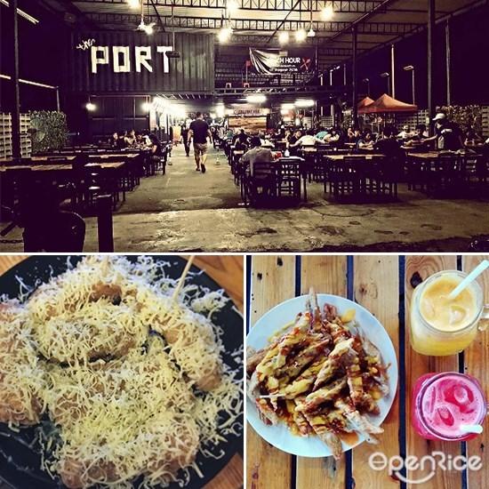The Port, Bandar Utama, Keropok Lekor Cheese, Container cafe in Bandar Utama, PJ