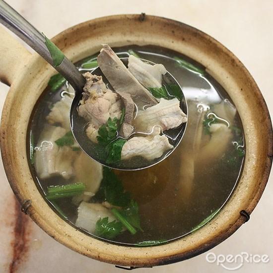 Tenhub restaurant, Spicy soup, spicy meat, chicken with wine, Yulek, Cheras