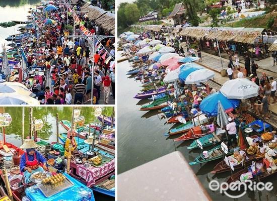 水上市场 ,Khlong Hae Floating Market