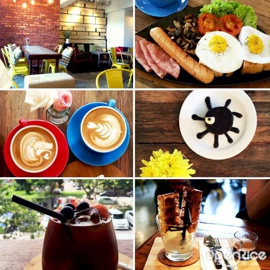 二楼, 咖啡馆, 餐厅, 雪隆, klang valley, kl, pj, cafe