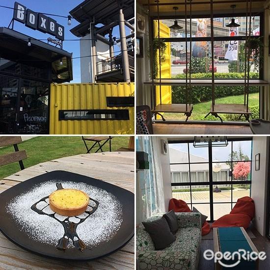 Boxes Café, Bukit Bintang, Instagram worthy cafes, KL