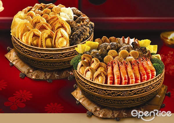 OpenRice Malaysia, Dragon-i, Pavilion, Poon Choi, Chinese New Year, Prosperity Abalone Treasure Pot, Signature Prosperity Abalone Treasure Pot, Lao Sheng, Yu Sheng