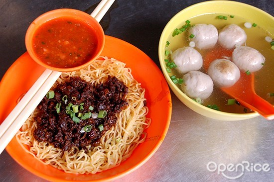 OpenRice Malaysia, Jalan Alor, Tengkat Tong Shin, Meng Kee Char Siew, barbecued chicken wing, Wong Ah Wah, fish ball noodle, Uncle Lim, pan mee, Gou Lou, fish head noodle, Charn Kee, drunken chicken noodle, sister, Ngau Kee, beef noodle, crispy fried egg, Restoran Muar