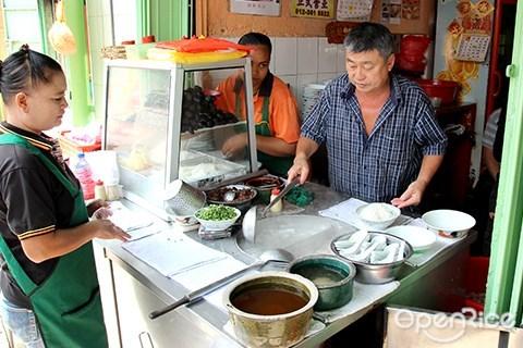Imbi Road, Jalan Imbi, pork noodle