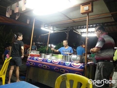 Kepong, Famous Nasi Lemak, Wai Sek Kai, Mamak Square