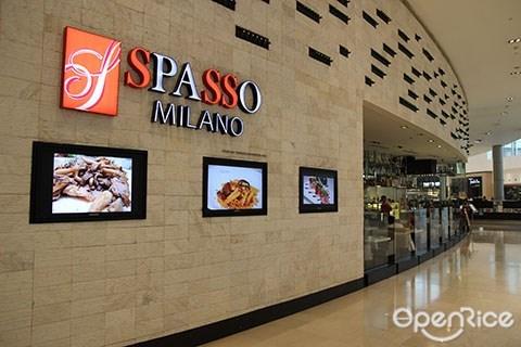 Spasso Milano, Pavilion KL, Italian