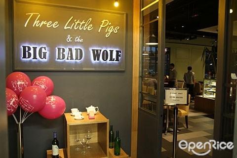 Three Little Pigs & The Big Bad Wolf, Bangsar