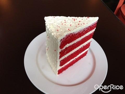 The Daily Grind, Red Velvet Cake