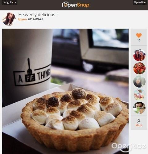 A Pie Thing, Smores, trendy, PJ, 爆红餐厅