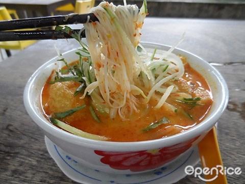 Baba Low's, Bangsar, KL, Melaka Nyonya food, Nyonya cuisine, Nyonya Laksa