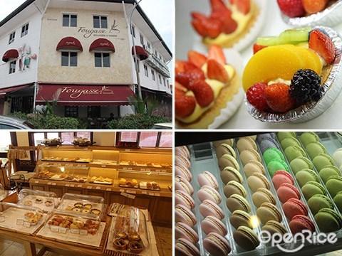 Fougasse, Levain, Bakery, Macaroon, Pandan Indah, KL, Brunch