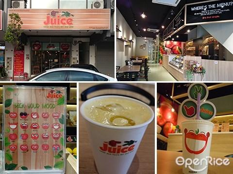 1 2 Juice, Fruit Juice, Juice Bar, Lakefields, Sungai Besi