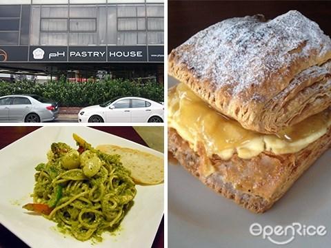 PH Pastry, Lakefields, Sungai Besi, Apple strudel, Pavlova, Pastries