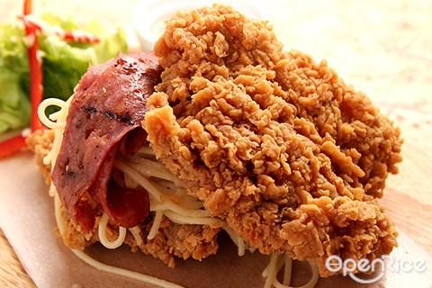 crispy crust, fried chicken, bandar sunway