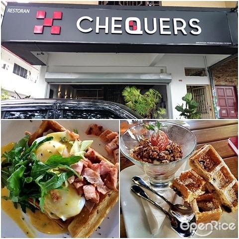 Chequers, TTDI, Waffle, Waffle specialist, PJ