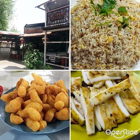 Nong & Jimmy, 炒饭, Thai seafood, kl, ampang