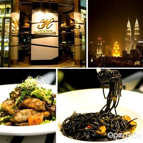 hemisphere, rooftop, regalia, jalan sultan ismail, 餐厅, 吉隆坡