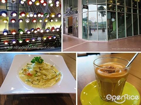 Ministry of Coffee, MOC, Solaris Mont Kiara, Coffees, Open Fish Pie