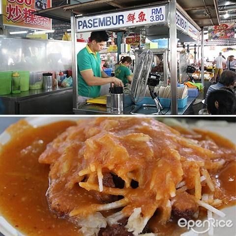 lebuh cecil market, Penang, pasar, best food, pasembur, indian