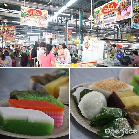 七条路巴刹, Penang, 巴刹, 槟城, 道地美食, 槟城美食, 娘惹食坊, 娘惹糕点