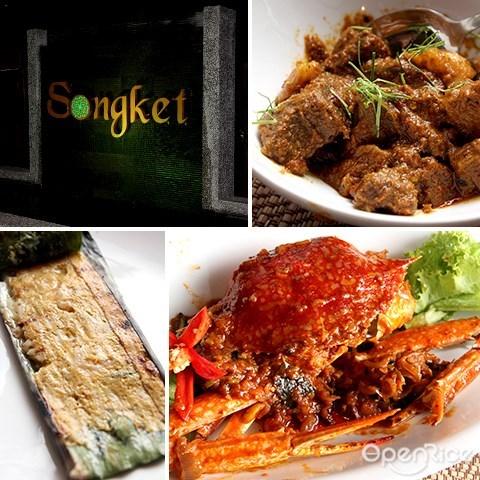 songket, jalan yap kwan seng, malay restaurant