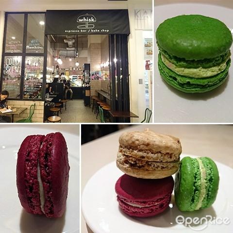 Whisk, Cafe, Empire Subang, Coffee, Cakes, Macaron, Subang