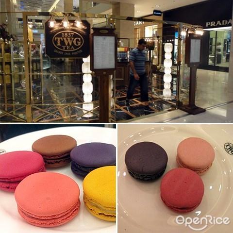 TWG Tea, Afternoon tea, Hi-Tea, TWG, Pavilion, Macaron, Tea, KL