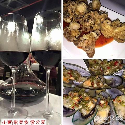 Seafood, Kai's Plato, Crab, Prawn, Wine Buffet