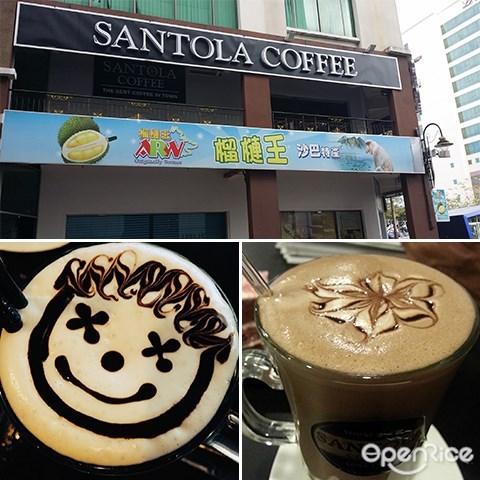 Santola Coffee Bar, Sabah, Kota Kinabalu, Coffee, Cakes, Dessert